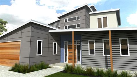 Modern A Frame House Plans by Modern Kit Home Design