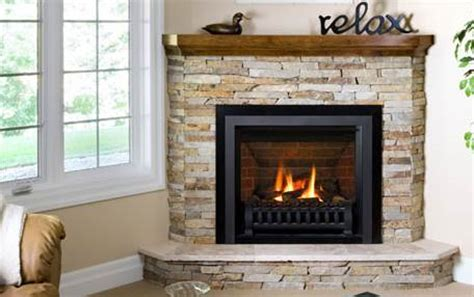Gas Fireplace Design Ideas by The Corner Gas Fireplace A Great Way To Maximize