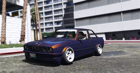 bmw e30 2 5 bmw e30 drift replace gta5 mods