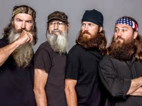 robertson duck dynasty hair duck dynasty stars without beards do you recognize the