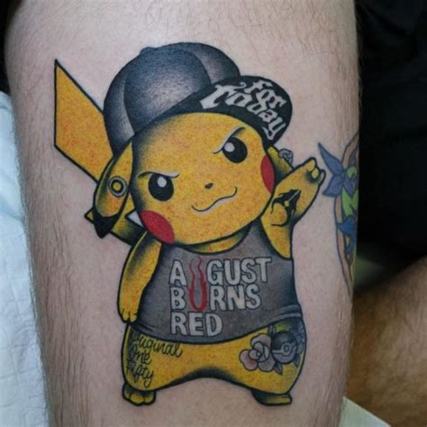 pikachu tattoo designs badass pikachu best ideas gallery