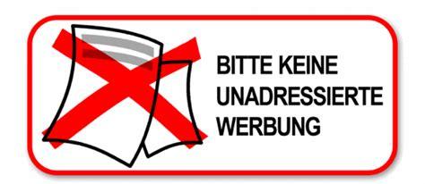 Bitte Keine Werbung Aufkleber Post by Werbung Vanilleblau Part 2