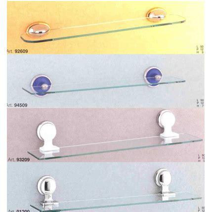 mensole per il bagno mensole mensola in vetro per bagno 66x14