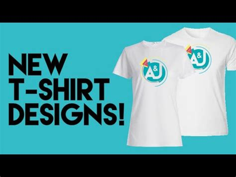 t shirt design you tube our first t shirt designs youtube