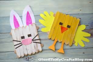 popsicle stick crafts popsicle stick easter friends kid craft