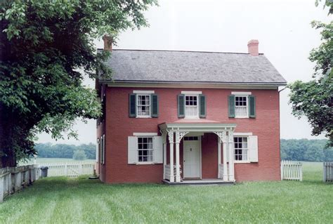 latin house america sherfy house at gettysburg