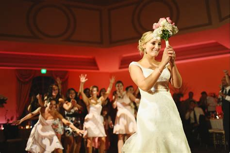 Wedding Bouquet Toss by Throwing Out The Bouquet Toss Bridal Hub