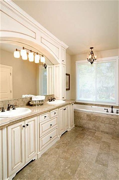 bathrooms  white cabinets whitebathroom