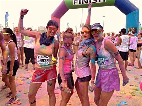 color me rad 5k rainbow bright color me rad 5k pretty connected