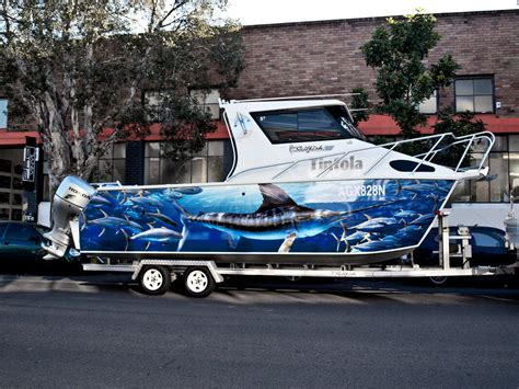 boat wraps boat wraps by shine on signs renton kent bellevue