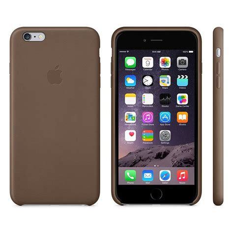 Cover Iphone 6 Plus iphone 6 plus 6s plus apple mgqr2zm a leather cover brown