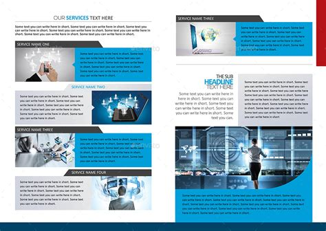 technology brochure catalog template graphicriver