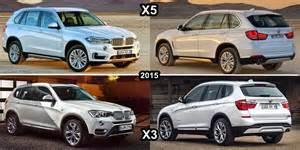 benim otomobilim 2015 bmw x5 vs 2015 bmw x3 design and