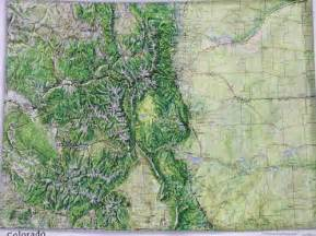 map od colorado raised relief maps 3d topographic map us state series