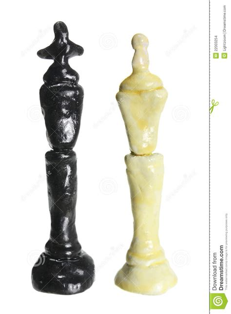 king and queen chess pieces stock images image 22003254