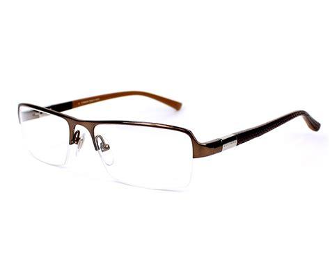 chopard 175 brown chopard eyeglasses vch 834 0k01 brown visio net