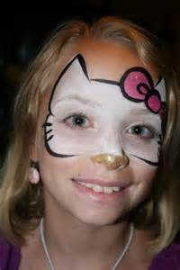 requested face painting kitty