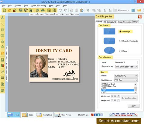 Id Card Design Software Review | id card designer software business office suites tools
