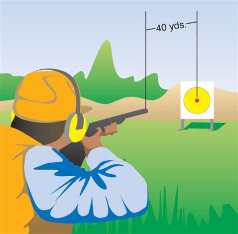 pattern your shotgun patterning your shotgun hunter ed com