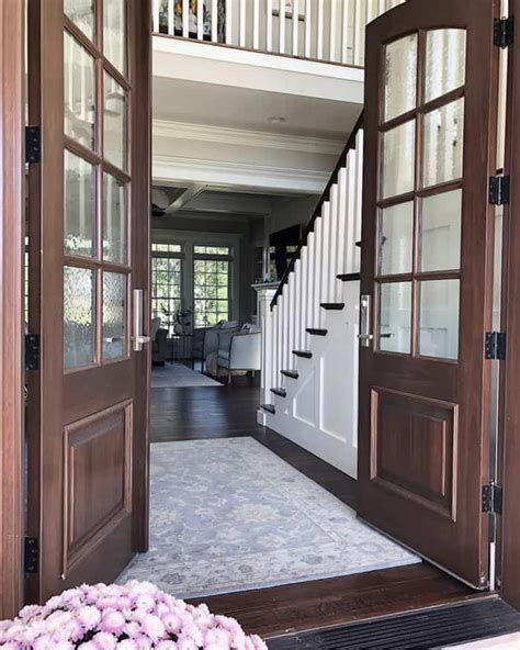 arched real wood double doors pros  cons caroline