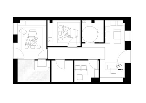 floor plan of dental clinic dental clinic nan arquitectos archdaily
