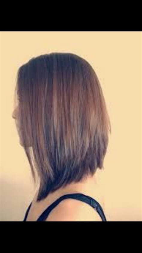 sling bob haircut pictures best 25 long asymmetrical bob ideas on pinterest