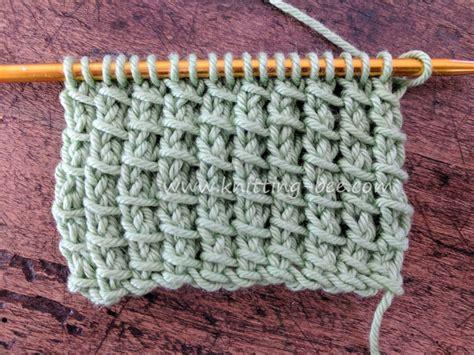 pattern library knitting bamboo stitch free knitting stitch knitting bee