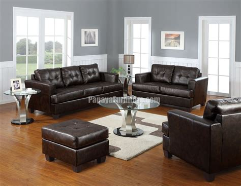brown decorating ideas brown leather
