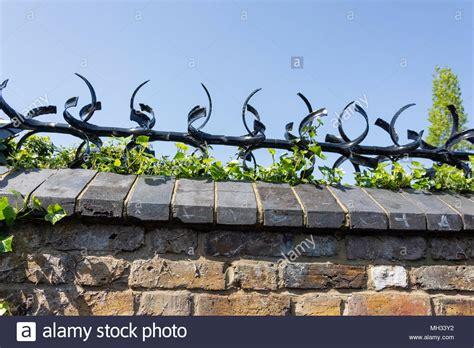 metal garden wall spikes fasci garden