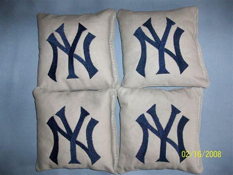 yankees bean bag bags new york yankee bean bags 4 corn