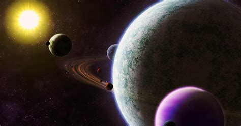 gambar planet  tata surya