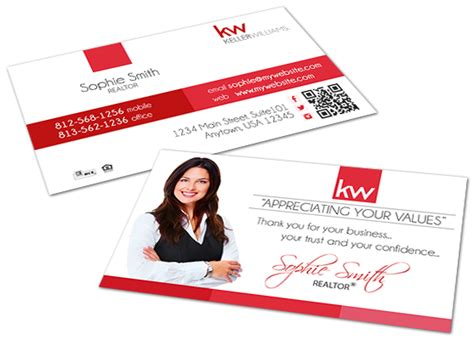 kw business card template keller williams business cards keller williams business