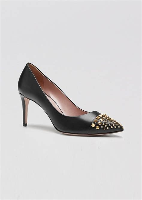 1668 5 A Highheels Gucci gucci gucci coline studded high heel shoes shop it to me