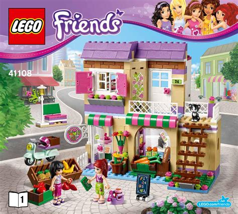 mercatino alimentare 41108 heartlake food market lego friends