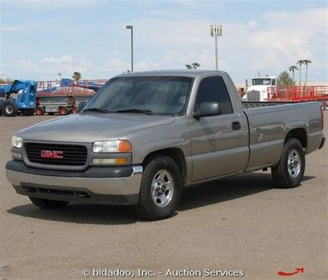 gmc sierra truck bed for sale buy used 2002 gmc sierra 1500 pickup truck 4 3l v6 auto