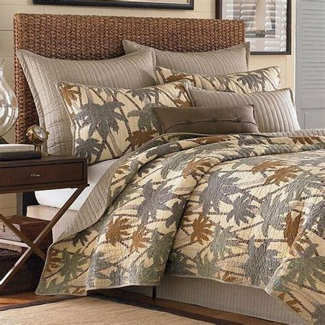 tommy bahama coverlets tommy bahama quot drift palm quot collection king cotton quilt