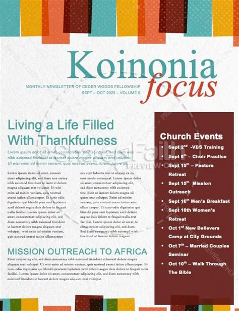 sunday school newsletter templates sunday school is starting now church newsletter template