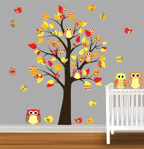 Owl Wall Decals For Nursery Owl Wall Decals For Nursery Children Wall Decal Owl Nursery Vinyl Wall Stickers Unisex Bright