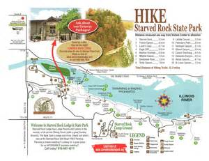 Starved Rock State Park Map by Gallery For Gt Starved Rock State Park Map