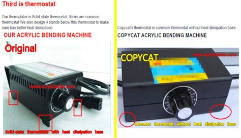 Acrylic Bening 8mm large acrylic bending machine tools