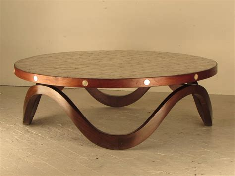 capiz shell table l remarkable 1940s hollywood regency walnut and capiz shell