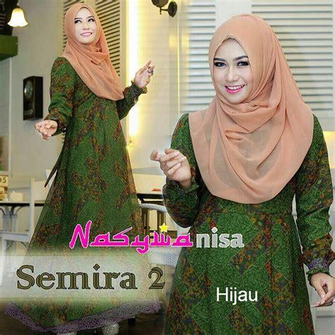 Kenna Seximo Vol 3 By Baenetta semira 2 hijau baju muslim gamis modern