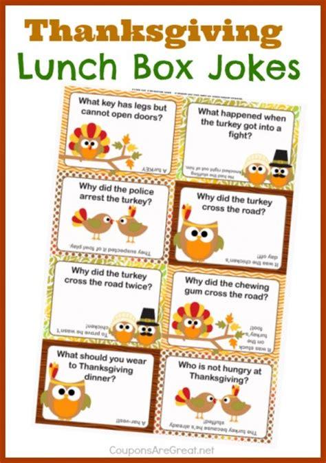 jokes printable pdf thanksgiving lunch box notes using thanksgiving jokes for kids