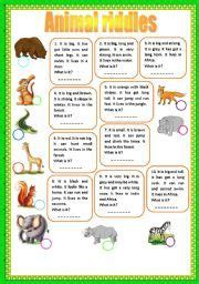 free printable animal riddles risultati immagini per animal riddles with answers brain