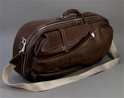 Tennis Media Leather Tote by Loro Piana Leather Tennis Bag Collection Italia Living