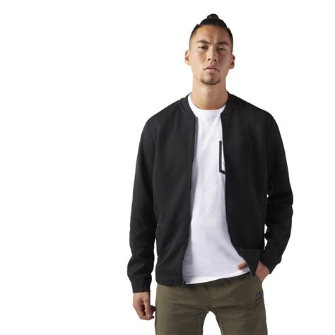 corporate jacket layout reebok hommes training supply track jacket black