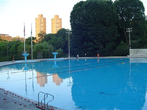panoramio photo of central park swimming pool