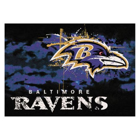 baltimore ravens rugs home office and school nflshop