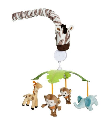 Carters Crib Mobile by S Jungle Play Musical Mobile