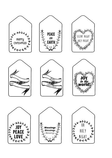 sew   printable christmas gift tags english afrikaans